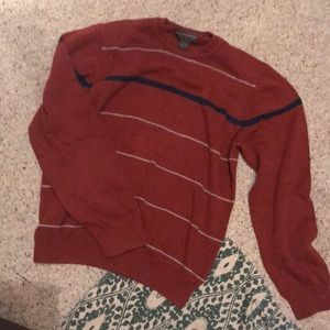 Men's Rusty Orange Sweater
